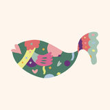 Fish theme elements vector,eps Royalty Free Stock Photography