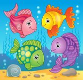 Fish theme image 5 Stock Image