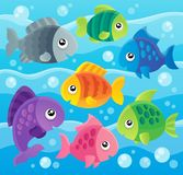 Fish theme image 7 Royalty Free Stock Photography