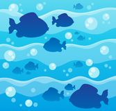 Fish theme image 8 Royalty Free Stock Photos