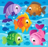 Fish theme image 9 Stock Images