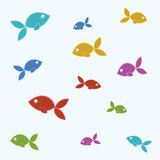 Fish tile Royalty Free Stock Photography