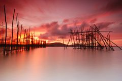 The fish trap Stock Images