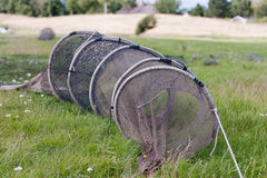Fish trap Stock Image