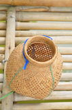 Fish trap basket. In asia Stock Photo