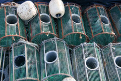 Fish traps Stock Images