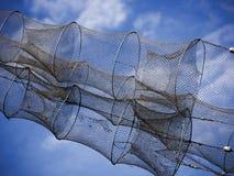 Fish traps Stock Photo