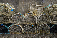 Fish traps Royalty Free Stock Photo