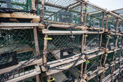 Fish Traps Stock Photography
