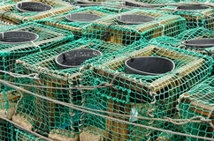 Fish Traps Stock Photo