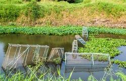 Fish traps Stock Photos