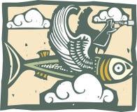 Fish Traveler Stock Images