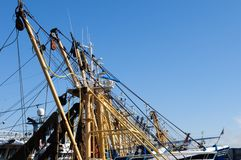 Fish trawlers Stock Photos