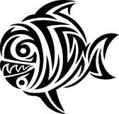 Fish tribal Stock Images