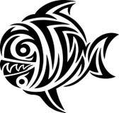 Fish tribal. Art  design Stock Images