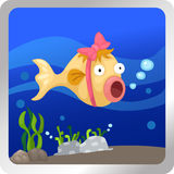Fish underwater Royalty Free Stock Images