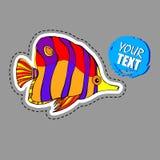 Fish  underwater sea ocean illustration marine. Fish  underwater sea ocean illustration Stock Images
