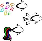 Fish. Vector illustration,vector fish,wildlife Stock Photos