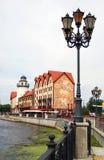 Fish village in Kaliningrad Royalty Free Stock Images