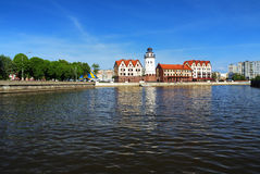 Fish village in Kaliningrad (Koenigsberg), Russia Royalty Free Stock Photography