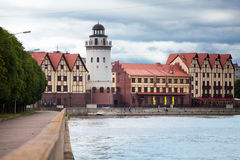 Fish Village. Kaliningrad. Russia Royalty Free Stock Photo