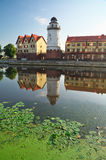 Fish Village. Kaliningrad. Russia Stock Photography