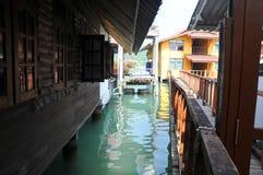Fish-village Thailand Stock Image