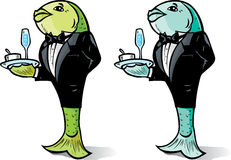 Fish Waiter Stock Photos