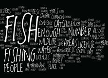 Fish Wildlife Text Background  Word Cloud Concept. FISH WILDLIFE Text Background Word Cloud Concept Stock Photo