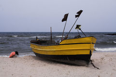 Fishboat 1 images libres de droits