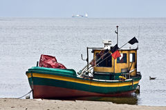 Fishboat Royalty Free Stock Images