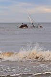 Fishboat wrak Zdjęcia Stock