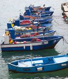 Fishboats Photographie stock