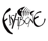 Fishbone. Moonochromatic Fishbone Set 1 Vector Drawing Vector Illustration