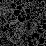 Fishbone en Hibiscus   Stock Afbeeldingen
