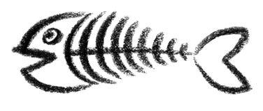 Fishbone icon Stock Photo