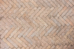 Fishbone Paving Stock Photo