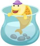 fishbowl Lizenzfreies Stockbild