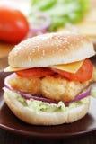 Fishburger royalty free stock photo