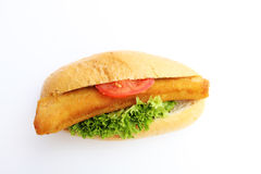 Fishburger Royalty Free Stock Photography