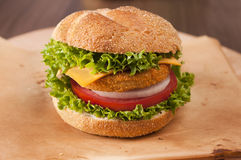 Fishburger Royalty Free Stock Images