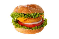 Fishburger isolated Stock Images