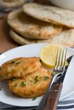Fishcakes Stock Photo
