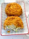 Fishcakes del bacalao Imagen de archivo