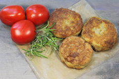 Fishcakes Royalty Free Stock Images