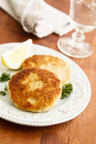 Fishcakes Stock Photography