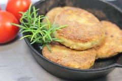 Fishcakes Royalty Free Stock Photography
