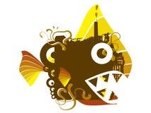 Fishcity Royalty Free Stock Photography