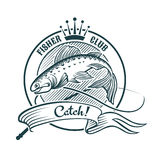 Fisher俱乐部 免版税库存图片