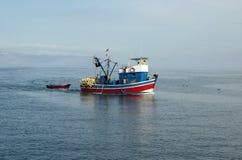 fisher łodzi Zdjęcie Royalty Free